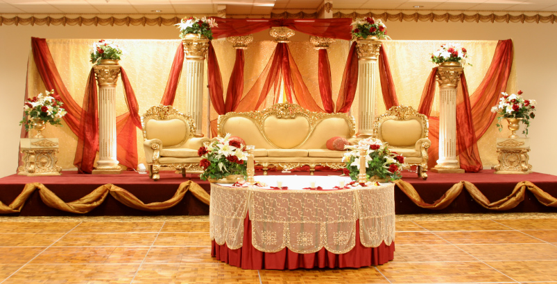 Indian wedding stages london asian wedding stages london for Asian wedding stage decoration london