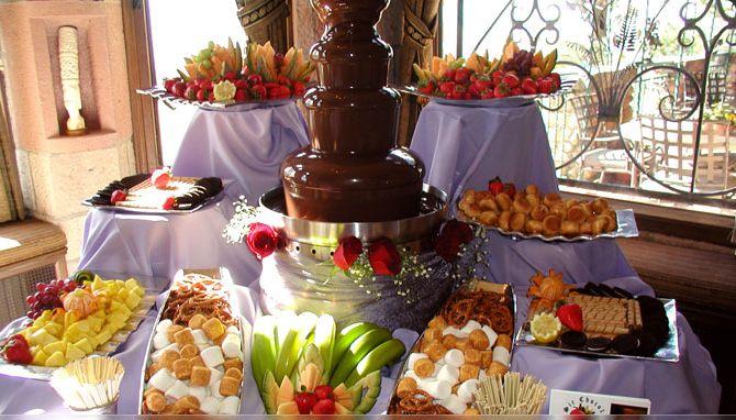 chocolate-fountain london