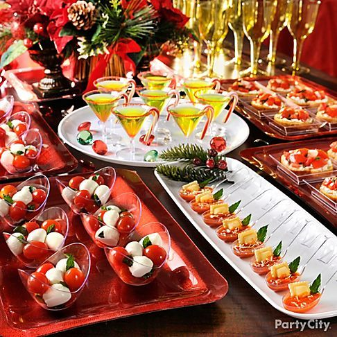CHRISTMAS PARTY CATERING AND DECOR : UBP